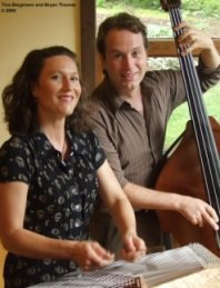 Tina Bergman dulcimer and Bryan Thomas bass
