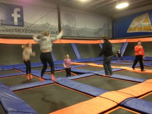 Youth Visiting Sky-Zone
