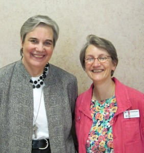 PC(USA) Moderator Cynthia Bolbach and Rev. Tricia Dykers-Koenig
